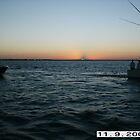 watching the sunset over Bimini by Reeshia1230