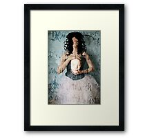 The Masks We Wear Framed Print