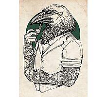 The Crow Man print Photographic Print