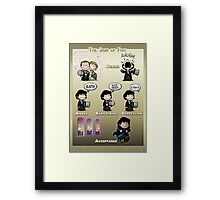 The Sign of Five Framed Print