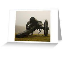 Deadly Fog Greeting Card