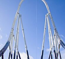 Stealth - Thorpe Park by Colin  Williams Photography
