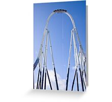 Stealth - Thorpe Park Greeting Card