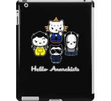 Hello Anarchists iPad Case/Skin