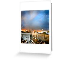 Storm over Sydney Greeting Card