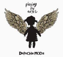 Depeche Mode : Playing the Angel - Girl Wings - Black Kids Clothes