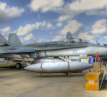 RAAF FA-18 by Nathan T