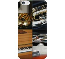 Fascinating Rhythm - Music Collage iPhone Case/Skin