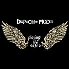 Depeche Mode : Playing the Angel - Only Wings - White by Luc Lambert