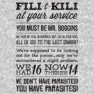[The Hobbit] Fili & Kili (Dark text) by ladysekishi
