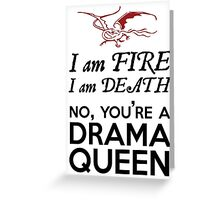 [The Hobbit] - Drama Queen Smaug Greeting Card