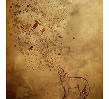 Wolfsong: earth tones by Danelle Malan