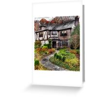 The Mansion Greeting Card