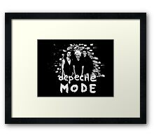 Depeche Mode : Photo From Song Of Faith And Devotion Framed Print