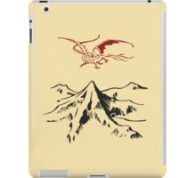 [The Hobbit] - Lonely Mountain (Light) iPad Case/Skin