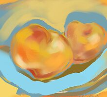Peaches by Sarah Madsen