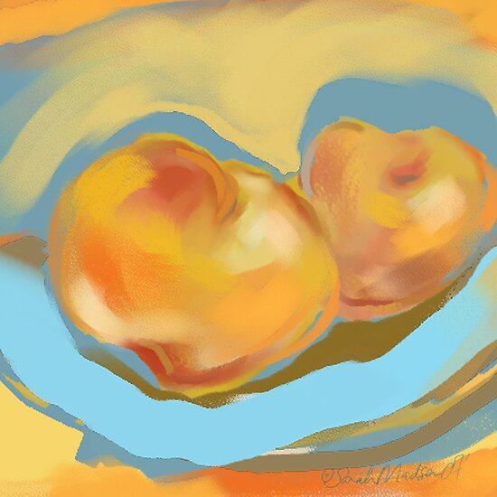 Peaches by Sarah Madsen