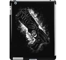 The system holds justice at gunpoint iPad Case/Skin