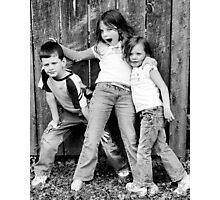 Siblings Photographic Print