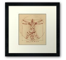 Anatomy of a Town Guard Framed Print