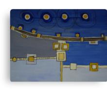 Infrastructure II Canvas Print