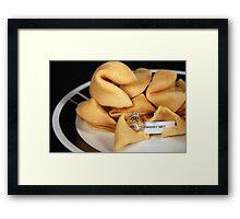 Sweet Proposal Framed Print