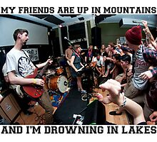 Tigers Jaw - I Saw Water Photographic Print