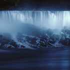 Niagara At Night by Rich Sirko