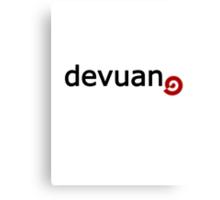 Devuan - Debian Fork Canvas Print