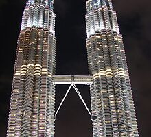 The Twin Towers by ~ Fir Mamat ~