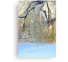 Sparkling Broken Tree Canvas Print
