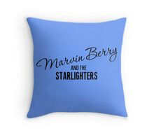 Marvin Berry & The Starlighters Throw Pillow