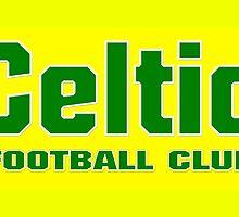 Celtic Football Club Design Yellow/Green by Sookiesooker