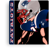 Patriots Nation Ready for the Game Canvas Print
