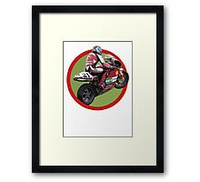 Superbike Racing Style Framed Print