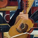 Abstract Guitar by Trisha Lamoreaux
