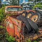 Rust And Tires by Susan Nixon