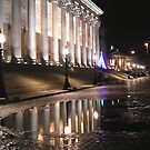St Georges Hall at Night by gothgirl
