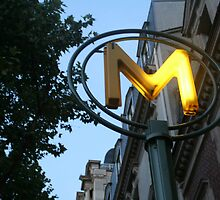 Metro Paris by martinilogic
