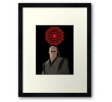 The Legend of Korra Zaheer Red Lotus Framed Print