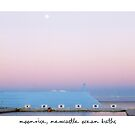 Moonrise, Newcastle Ocean Baths, Australia by Paul Foley