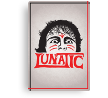 """The Lunatic"" Wrestling Design Canvas Print"