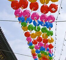 Temple Lanterns #2 by randmphotos