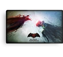 Batman vs. Superman World's Finest Metal Print