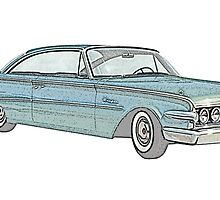1960 Ford Edsel classic car by surgedesigns