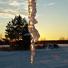 Icicle at Sunset by NiftyGaloot