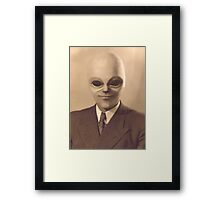 The Real Mr Woolworth Framed Print