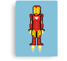 8Bit Iron Man Canvas Print
