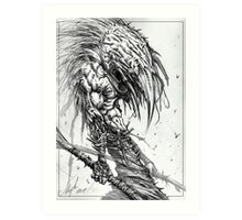 The Infested One Art Print