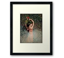 Snow White (Schneewittchen) Framed Print